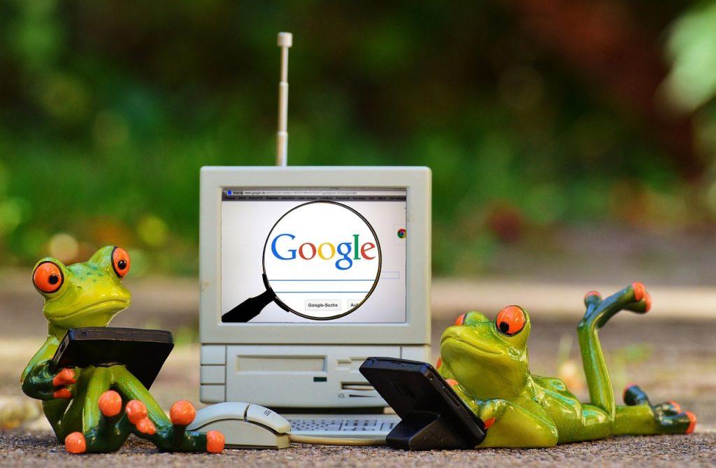 lệ thuộc google