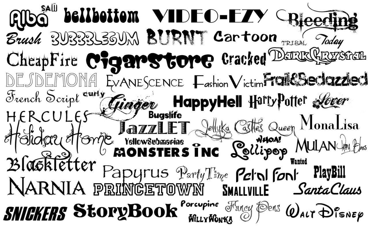 nhớ font chữ